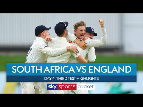 England FOUR wickets away from victory! | South Africa vs England | Day 4, 3rd Test Highlights