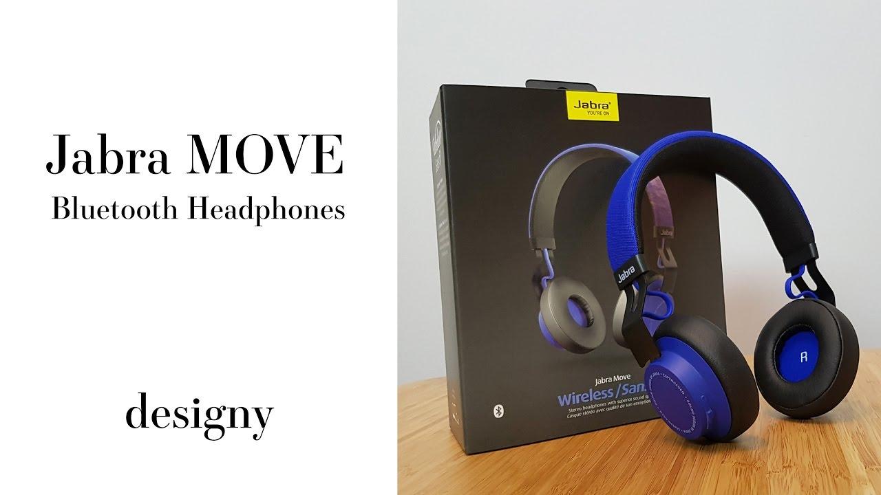 Jabra MOVE Wireless Bluetooth Headphones Review