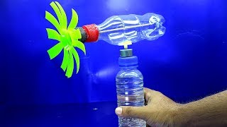 How To Make a Wind Turbine Generator Using Plastic Bottle
