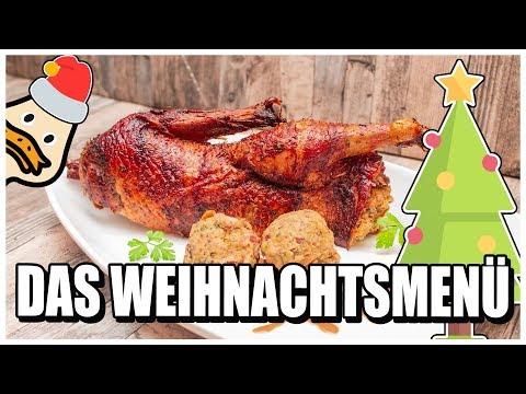 Weihnachtsmenü vom Grill | Ente am Drehspieß vom Kugelgrill
