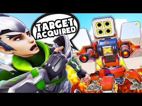 OVERWATCH TURRET RUN CUSTOM GAMEMODE!?