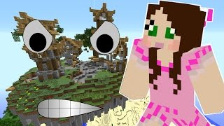 Minecraft: INSANE SKY VILLAGE MISSION! - Custom Mod Challenge [S8E80]