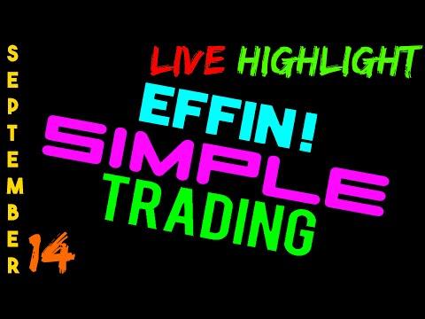 9/14/16 LIVE Stream Highlight – eMini NASDAQ (NQ) – Futures Day Trading // EffinSimpleTrading