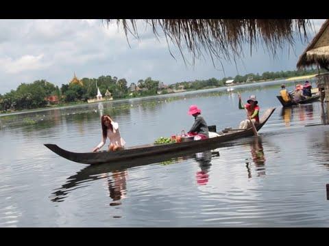 Tonle Bati Resort at Takeo Province in Cambodia