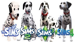 ♦ Sims - Sims 2 - Sims 3 - Sims 4 : Dogs (Part 1)