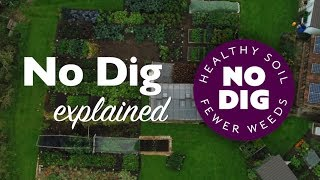 No Dig: feed the soil not the plants for many, easier harvests and few weeds