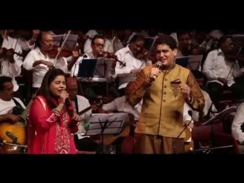 Pehla Nasha Pehla Khumar... Sadhana Sargam & Dr Rahul Joshi