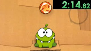I decided to speedrun Cut The Rope and the puzzles only partially broke me...