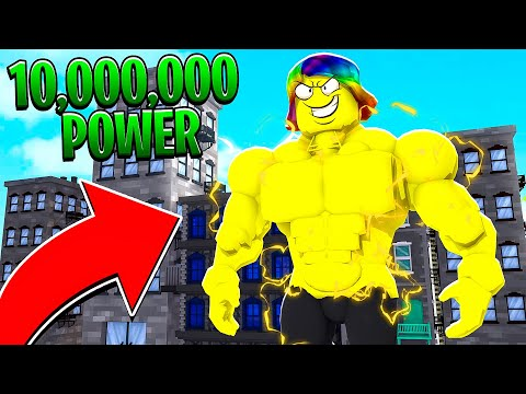 GETTING 10,000,000,000 POWER And BECOMING INVINCIBLE (Roblox)