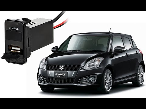 How To Mount Usb Charger In A Car Suzuki Swift 2008