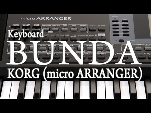 Keyboard - Muara Kasih BUNDA (Piano Cover) KORG Micro Arranger