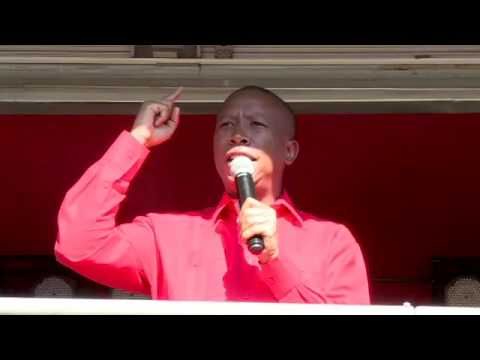 We must direct our battle to white monopoly capital: Malema