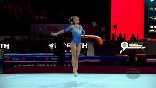 MELNIKOVA Angelina (RUS) - 2019 Artistic Worlds, Stuttgart (GER) - Qualifications Floor Exercise