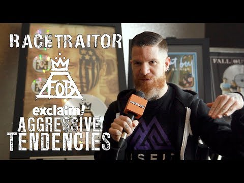 Andy Hurley on reviving metalcore act Racetraitor, talks politics and racism | Aggressive Tendencies Mp3
