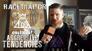 Andy Hurley on reviving metalcore act Racetraitor, talks politics and racism | Aggressive Tendencies