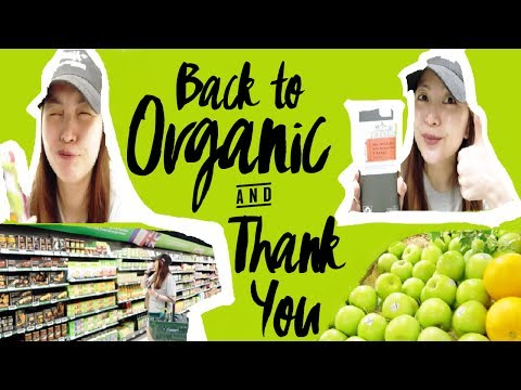 BACK TO ORGANIC + MARKS & SPENCER HAUL & THANK YOU FOR 800 SUBS ♡  #TheWickeRmossVLOGS
