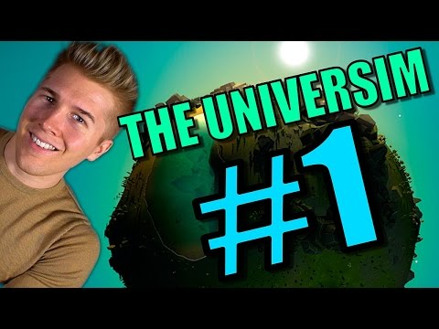 CIVILIZATION GOD GAME! | The Universim [Gameplay Part 1] Let's Play: Ep 1 |
