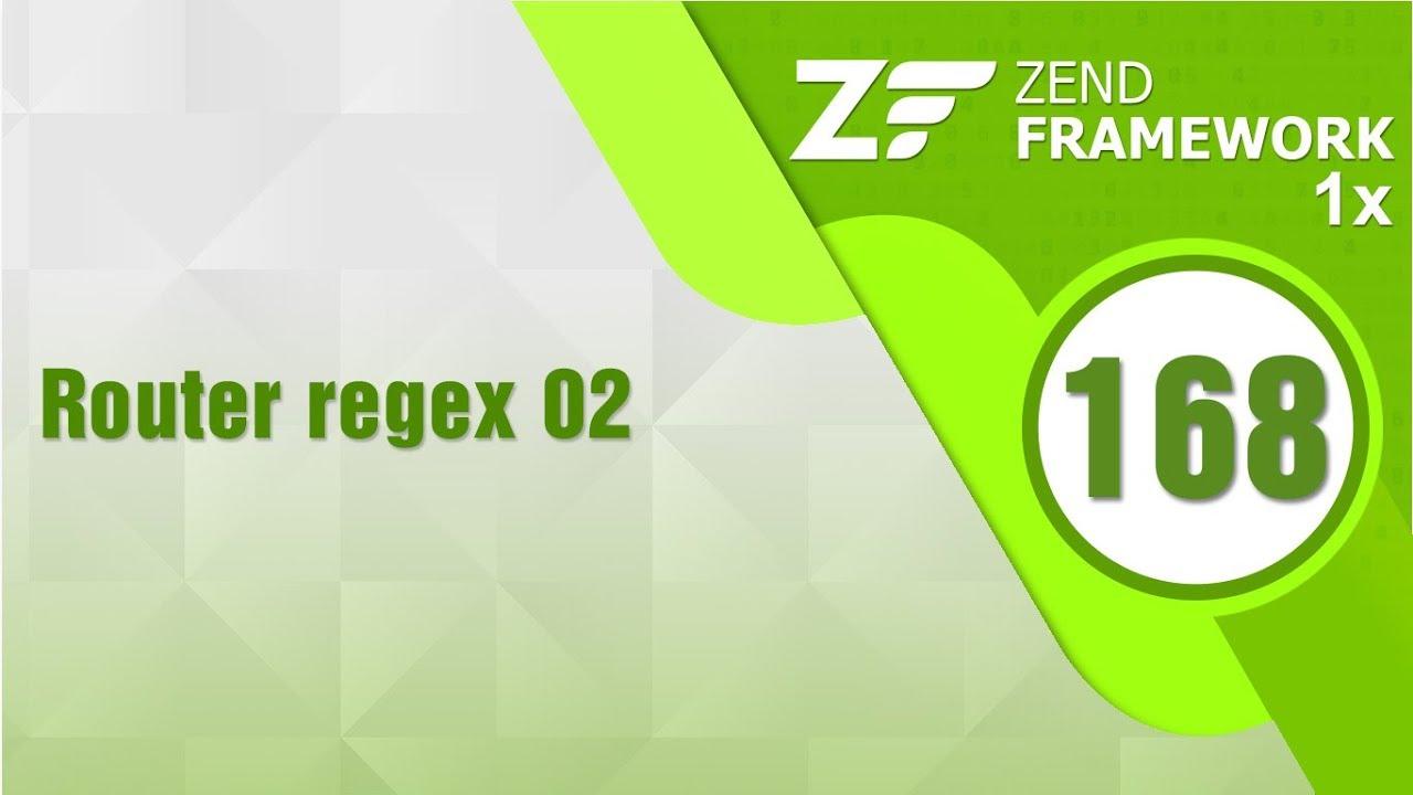 Lập trình Zend 1x - Bài 168 Router regex - Phần 2