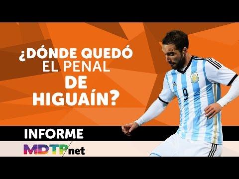 ¿Dónde terminó la pelota del penal de Higuaín?