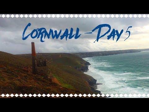 Cornwall ~ Day 5 // Newquay & Exploring A Tin Mine
