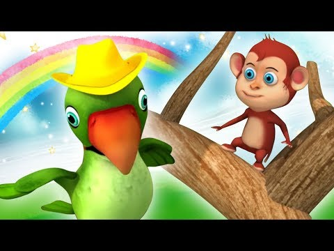 Main Tota Hindi Rhyme | Haathi Raja | Nursery Rhymes for Children | Kids Channel India