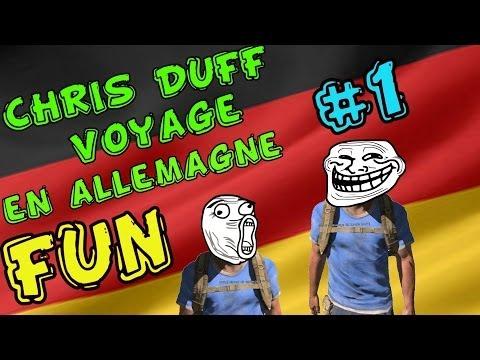 Arma 3 Altis Life | Chris&Duff voyage en Allemagne | Troll | Ep #1