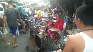 Totoy bibo, grabe lupit ng bata Mag drum