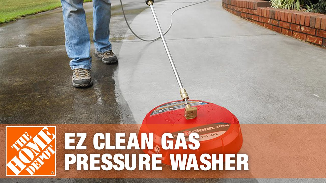 Ez Clean Gas Pressure Washer Surface