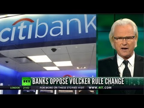 """Boom Bust: """"Man Bites Dog"""" As Big Banks OPPOSE Volcker Rule Reform"""
