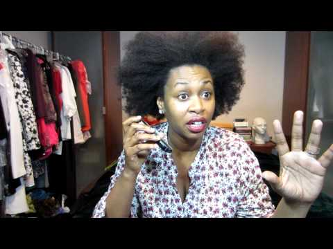 GloZell''s Real Natural Hair ....  Nappturalite Radio Interview