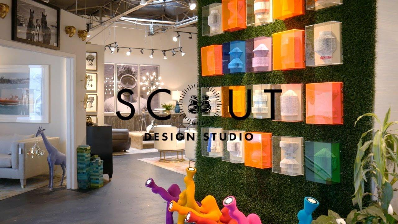 Scout Design Studio Virtual Showroom Tour May 2020 Youtube