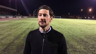 Barry Town United 0 TNS FC 6 - Anthony Limbrick post-match