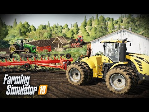 FS19- FARM DEMOLITION! TEARING DOWN THE ABANDONED FARM & TURNING IT INTO A CAMPGROUND