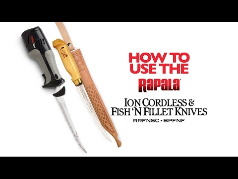 Filleting A Pike Using Rapala® Fillet Knives: HOW TO FILLET