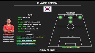 Cheon Se Yoon Highlight (수원삼성 …
