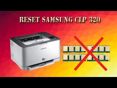 Reset Samsung Clp 320 - How To Reset The Samsung Clp 320 Clp 325, Clx 3185 Drum Clt-r407/see R407