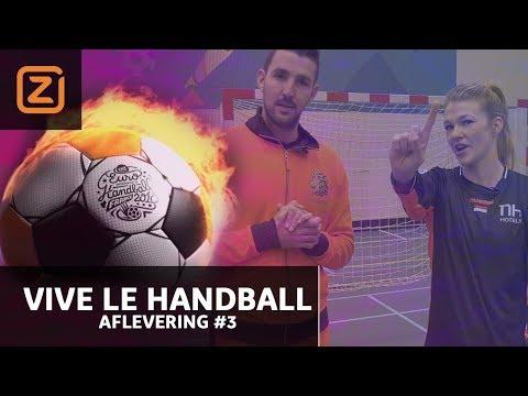 Tess Wester vs Raoul & Alles over Dione Housheer | Vive le Handball #3