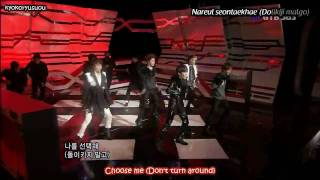 YouTube- SHINee Ring Ding Dong Live (Eng Sub & Karaoke) 091018  HD