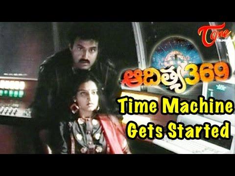 Time Machine Gets Started || Aditya 369 Movie Scene