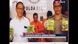 Download Video Polda Riau Tangkap 3 Anggota Sindikat Narkoba, Sabu 7 Kg Senilai Rp7 Miliar Disita - BIM 14/08 MP3 3GP MP4
