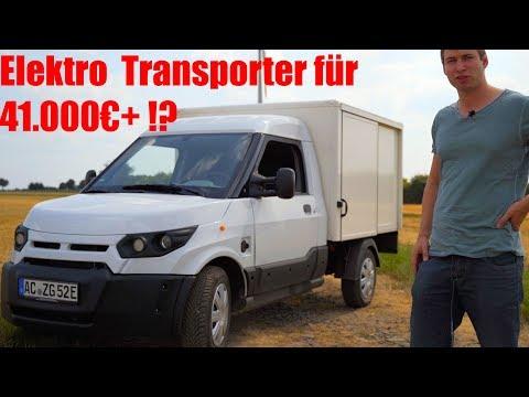 StreetScooter, E-Transporter den VW, Daimler nicht bauen im Test | Deutsche Post