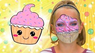 Cupcake Face Paint | FunPop!