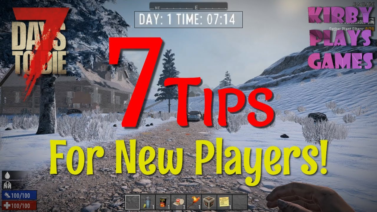 Skill Point Guide For 7 Days To Die Early Game Builds Starting Skills Youtube