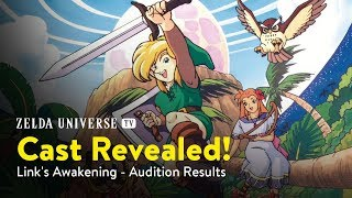 CAST ANNOUNCEMENT ~ Link's Awakening: The Dreaming Island [Manga Dub]
