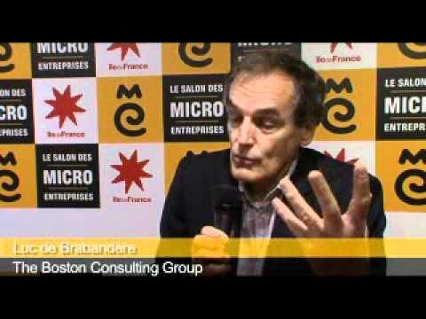 Luc de braband re boston consulting group au salon des micro entreprises youtube - Salon des micro entreprise ...