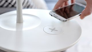 Smartphones Get a Buzz From Wireless Charging