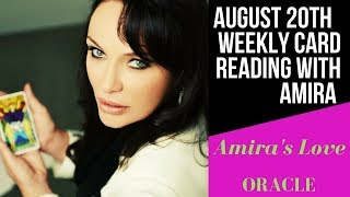 20th August Weekly Channeled Reading with Amira 🌞🌞Solar Eclipse Energies🌞🌞