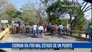 PUENTE PAZ DE ARIPORO A PUNTO DE CAERSE