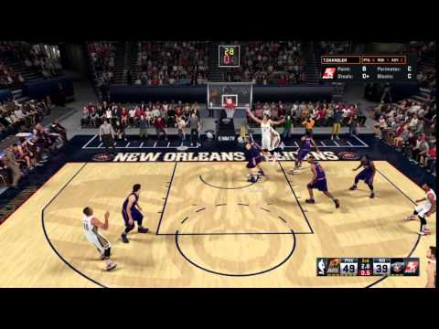NBA 2K16 Tyson Chandler From DEEP!!!!