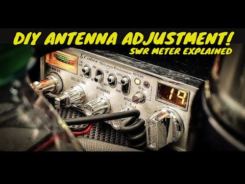 How To Tune Your CB Antenna (Quick & Simple)